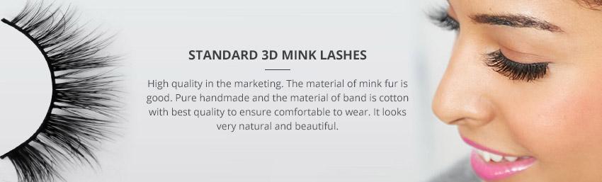 Standard 3D Mink Lashes