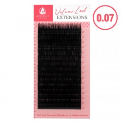 Acelashes® 0.07 Classic Volume Premium Lash Extensions Salon Professional LA07