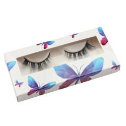 Stock Packaging White Background Butterfly Paper Box ACE-P32