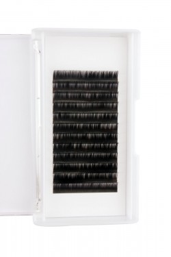Russian Volume 0.07 Lash Extensions manufacturer C Curl  12mm