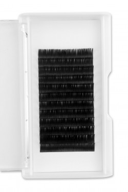 0.12MM Flat Eyelash Extensions C Curl 12mm