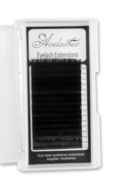 0.20MM Flat Eyelash Extensions B Curl Mix Length