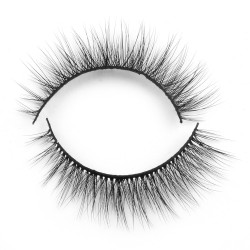 Wholesale Best Seller Private Label 3D Silk Lashes ABN19