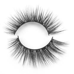 Wholesale Best Seller Private Label 3D Silk Lashes ABN8