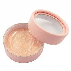 Stock Luxury Baby Pink Round Packaging Boxes ACE-C04