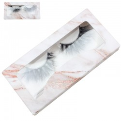 Stock Packaging Rose Gold Marble Paper Boxes ACE-P16