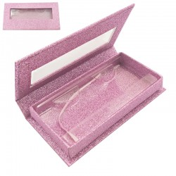 Stock Packaging Pink Glitter Magnetic Boxes ACE-R04