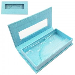 Stock Packaging Baby Blue Glitter Magnetic Boxes ACE-R06