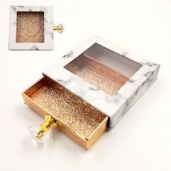 Stock Packaging Gold Marble Boxes With Handle ACE-S01