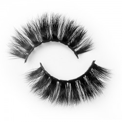 Pure Handmade 3D Mink Eyelashes With Private Label B3D187