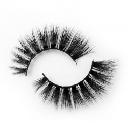 100% Mink Fur 3D Mink Lashes With Private Label B3D98-2