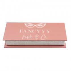 Custom  without window  eyelash packaging  with print your logo CMB09