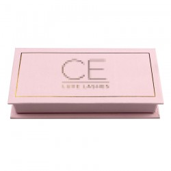 Custom  without window  eyelash packaging  with print your logo CMB11