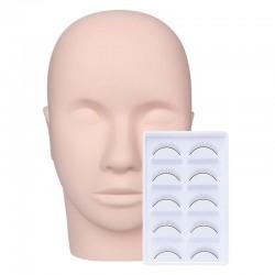 Acelashes® Practice Mannequin Head-1