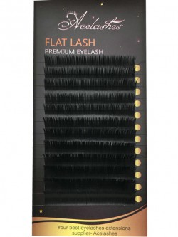 Hot Selling Eyelash Extensions Excellent Flat Silk Lash