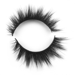 2018 New Style 3D Silk Lashes With Custom Package N3DS034