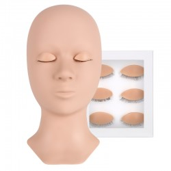 Acelashes® Advanced Mannequin Head-1