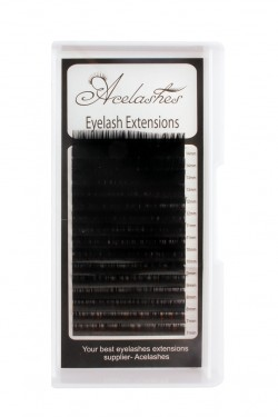 Russian Volume 0.07 Eyelash Extensions D Curl  Mix Length