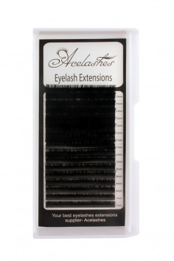Russian Volume 0.10 Lash Extensions Supplies B Curl  Mix Length