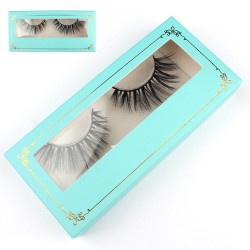 Stock Packaging Tiffany Blue Paper Box With Gold Border ACE-P19