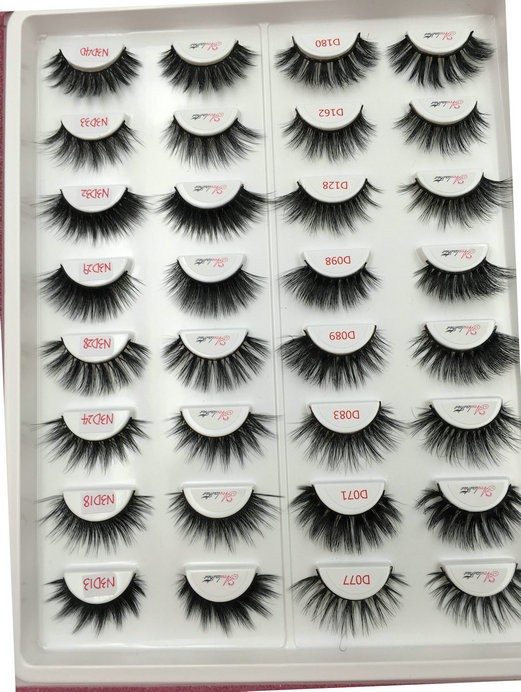 38f74850b5a Best Sellers 8 pairs Mink Lashes and 8 Pairs Faux Mink Lashes