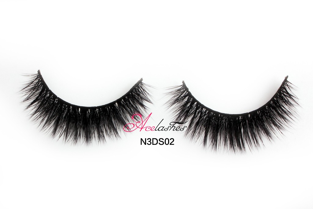 New Luxury 3D Silk False Eye lashes