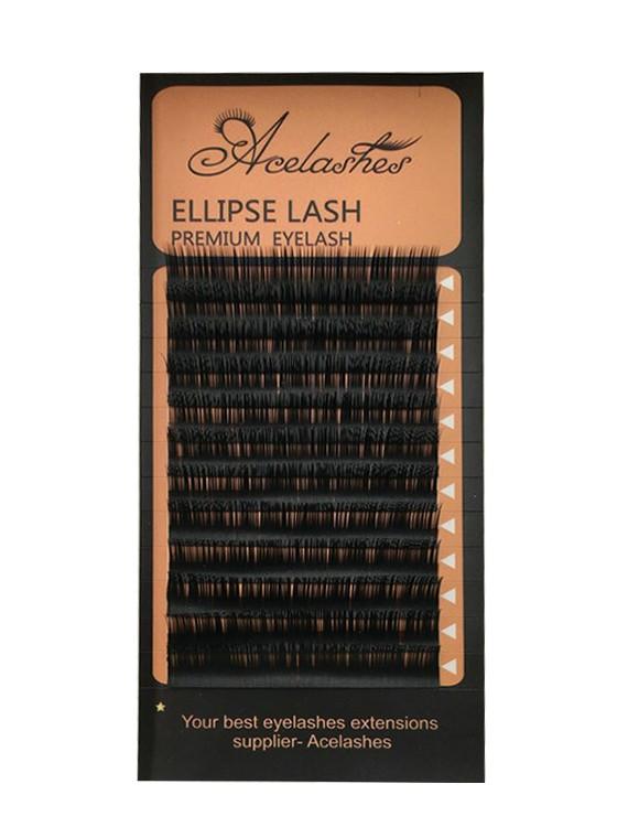 717340008b9 Premium Ellipse Faux Mink Eyelash Extension 0.10-0.25mm