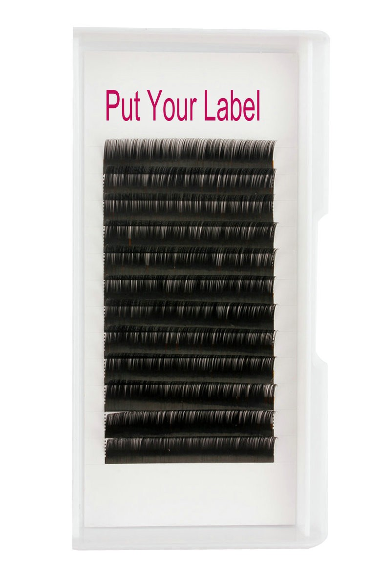 Russian Volume 0 10 Lash Extensions Supplies C Curl 12mm