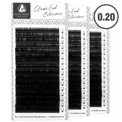 Acelashes® Wholesale 0.20 Classic Lash Extensions Premium Lashes Manufacturer WCL20