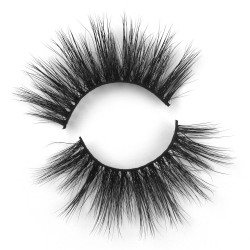 Wholesale 25mm 3D Wisipy Criss Cross Long Mink Lashes 5D05