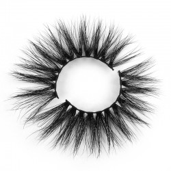 New Designed Real Mink Lashes 25mm Mink Lashes 5DN003