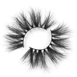 Best 25mm 5D Mink Lashes Vendor With Private Label 5DN19