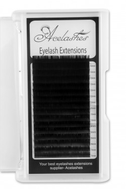0.15MM Flat Eyelash Extensions C Curl Mix Length