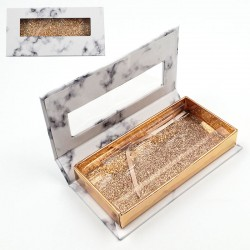 Stock Packaging Marble Magnetic Boxes With Window ACE-R02