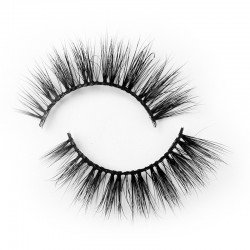 100% Mink Fur 3D Mink Lashes Natural Looking B3D177