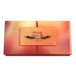 Custom French Doors eyelash packaging with your brand name CMB103