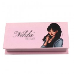 Custom  without window  eyelash packaging  with print your logo CMB08