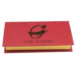 Custom  without window  eyelash packaging  with print your logo CMB10