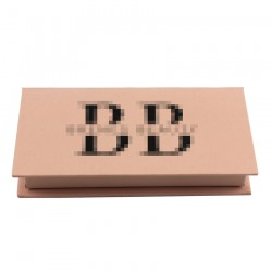 Custom  without window  eyelash packaging  with UV your logo CMB13