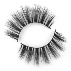 Pure Handmade 3D Silk Lashes With Cheap Price  FA02