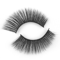 New Style 3D Silk Lashes With Custom Package FA04
