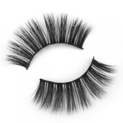 Superior Wholesale 3D Silk Lashes With Custom Label FA06