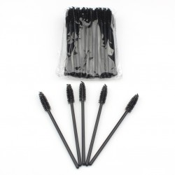 Stock Eyelashes Brushes Black Color 50pcs/ Pack AC-B2
