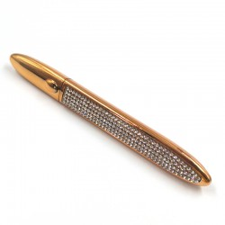 Hot Sale Gold Diamond Shape Adhesive Eyeliner Black Color ADP02