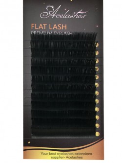 High Quality Flat Silk Eyelash Extensions