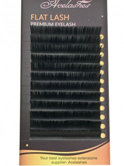 Individual Faux Mink Lashes Flat Eyelash Extensions