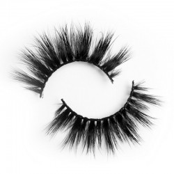 Trustworthy Best Selling Mink Fur Eyelashes Customized Packaging Box Lashes BM037