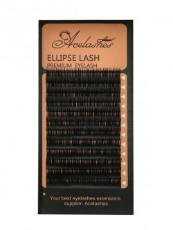 Premium Ellipse Faux Mink Eyelash Extension 0.10-0.25mm