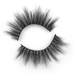 Quality wholesale 3D faux mink lash with private label BW207