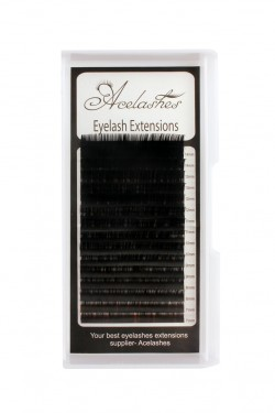 Russian Volume 0.10 Lash Extensions Supplies B Curl  12mm